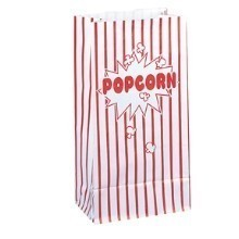 10CT POPCORN PAPER PARTY BAGS Thumbnail
