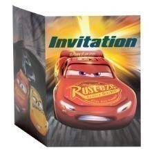 CARS 3 INVITATIONS - 8 COUNT Thumbnail