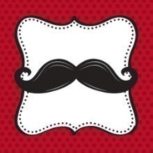 MUSTACHE MADNESS BEVERAGE NAPKINS-16 COUNT Thumbnail