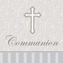 DEVOTION 1ST COMMUNION LUNCH NAPKINS-16 COUNT Thumbnail