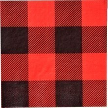 BUFFALO PLAID LUNCH NAPKINS Thumbnail
