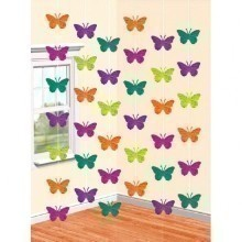 BUTTERFLY FOIL STRING DECORATIONS Thumbnail