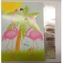 FLAMINGO DIE CUT BOXED CARDS Thumbnail