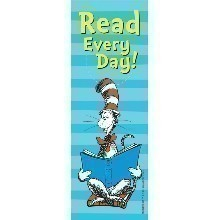 DR SEUSS CAT IN THE HAT READ BOOKMARKS Thumbnail
