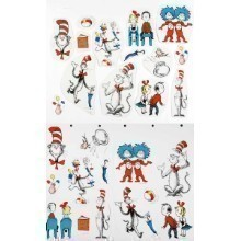 DR SEUSS CAT IN THE HAT CHARACTERS DECOR KIT Thumbnail