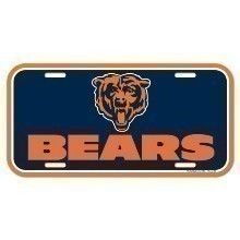 CHICAGO BEARS LICENSE PLATE Thumbnail