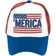 PATRIOTIC SPIRIT TRUCKER HAT Thumbnail