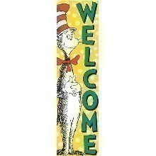 DR SEUSS CAT IN THE HAT WELCOME BANNER Thumbnail