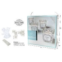 18 PC SQUARE VOTIVE FAVOR KIT  Thumbnail