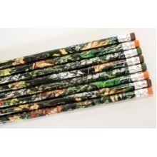 MOSSY OAK CAMOUFLAGE 8 PACK PENCILS Thumbnail