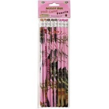 PINK MOSSY OAK 8PK PENCILS Thumbnail
