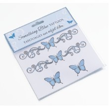 SOMETHING BLUE TEMPORARY TATTOOS Thumbnail