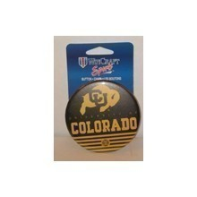 UNIVERSITY OF COLORADO BUFFALO PIN / BUTTON Thumbnail