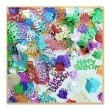 1/2 OZ BIRTHDAY BASH METALLIC CONFETTI Thumbnail