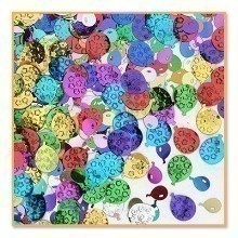 1/2 OZ BALLOON PARTY METALLIC CONFETTI Thumbnail