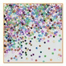 1/2 OZ PARTY STARS METALLIC CONFETTI Thumbnail