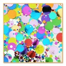 1/2 OZ PARTY POLKA DOTS METALLIC CONFETTI Thumbnail
