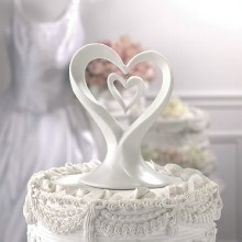 PORCELAIN HEART IN HEART CAKETOP Thumbnail