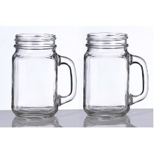 SET OF 2 MASON JAR PINT MUGS Thumbnail