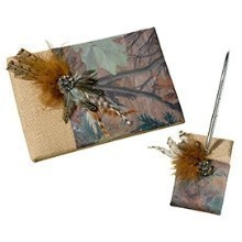 CAMOUFLAGE GUEST BOOK WITH PEN  Thumbnail