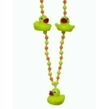 RUBBER DUCKY BEAD NECKLACE Thumbnail