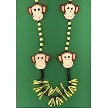 MONKEY BEAD NECKLACE Thumbnail