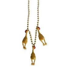 RUBBER CHICKEN BEAD NECKLACE Thumbnail