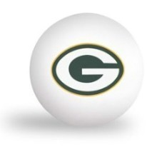 GREEN BAY PACKERS 6PK PING PONG BALLS Thumbnail