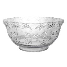 12 QT CLEAR EMBOSSED PLASTIC PUNCH BOWL Thumbnail