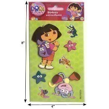 DORA THE EXPOLRER 3-D STICKERS Thumbnail