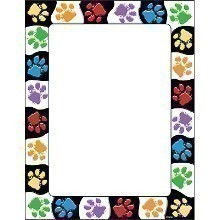 PAW PRINTS 50CT TERRIFIC PAPERS Thumbnail