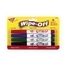 4PK STANDARD WIPE-OFF MARKERS Thumbnail