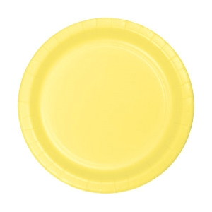 YELLOW 7 INCH PAPER PLATES - 25 COUNT  sc 1 st  50-50 Factory Outlet & YELLOW 7 INCH PAPER PLATES - 25 COUNT|Party Supplies 50-50 Factory ...