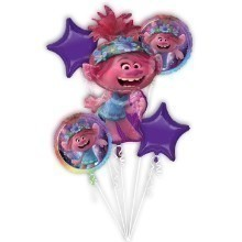 TROLLS WORLD TOUR MYLAR BALLOON BOUQUET KIT Thumbnail