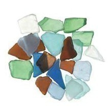 16OZ SEA GLASS-RAINBOW MIX Thumbnail