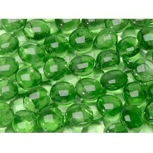 12OZ GLASS GEMS-GREEN Thumbnail