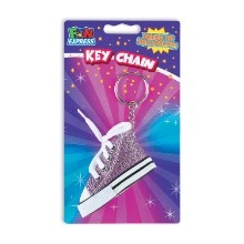 GLITTER SHOE KEYCHAIN - ASSORTED Thumbnail