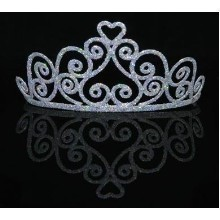ADULT SPARKLE HEART TIARA Thumbnail