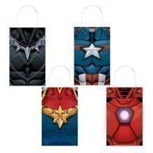 AVENGERS UNITE 8 PACK KRAFT FAVOR BAGS Thumbnail