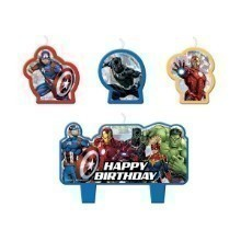 AVENGERS UNITE BIRTHDAY CANDLE Thumbnail