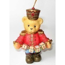 CHERISHED TEDDIES TOY SOLDIER 1996 ORNAMENT Thumbnail