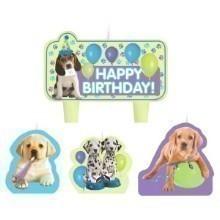 PARTY PUPS CAKE CANDLES Thumbnail