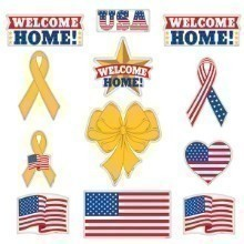 WELCOME HOME CUTOUTS VALUE PACK - 12 COUNT Thumbnail