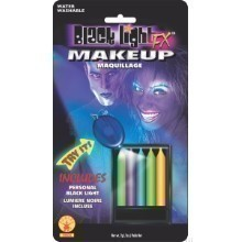 5 PACK NEON/BLACKLITE MAKEUP STICKS Thumbnail