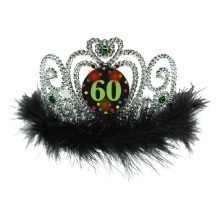 60TH BIRTHDAY FLASHING TIARA  Thumbnail