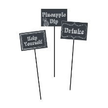 Chalkboard Centerpiece Signs - 3 Count Thumbnail