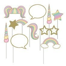 UNICORN SPARKLE PHOTO BOOTH PROPS Thumbnail