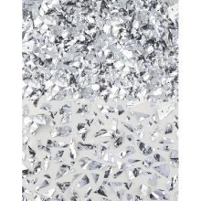 1.5OZ SPARKLE FOIL CONFETTI SHRED - SILVER Thumbnail