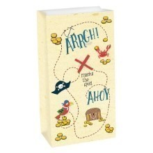 PIRATE AHOY 8 PACK PAPER TREAT BAGS Thumbnail