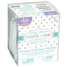 BABY SHOWER DIAPER GAME KIT Thumbnail